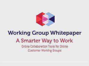Working Group Whitepaper