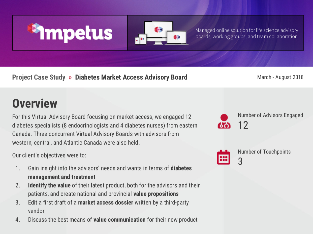 diabetes market access