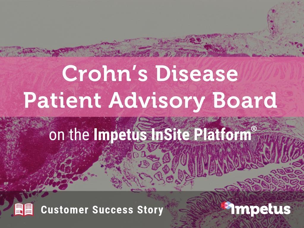 Crohn's Disease Patient Advisory Board