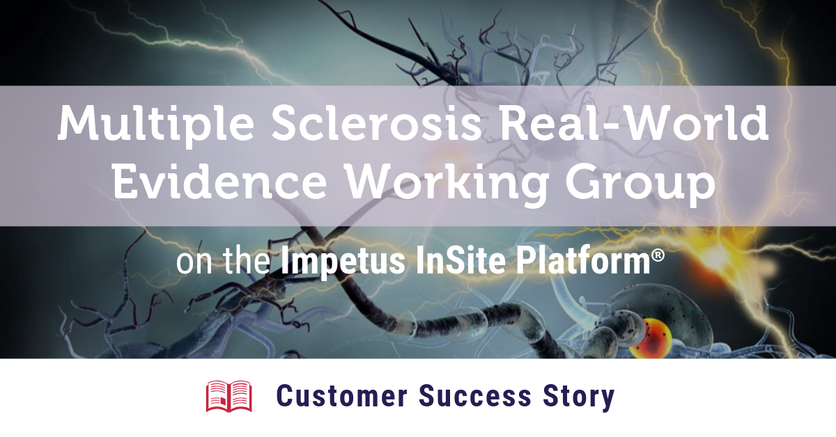Multiple Sclerosis RWE Working Group Customer Success Story