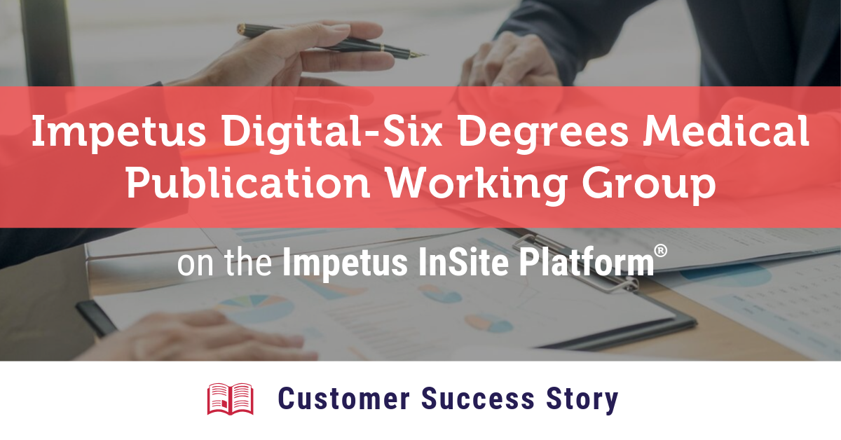 Publication Working Group Customer Success Story