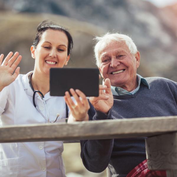 Solving the Caregiver Crisis Through Technology