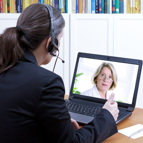 HCP Pharma Rep Virtual Interaction